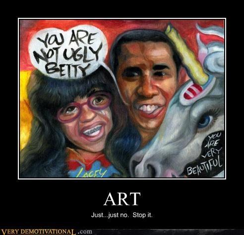 ugly betty horrible wtf art - 3254795008