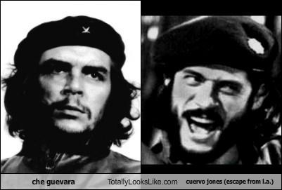 che guevara Totally Looks Like cuervo jones (escape from l.a.)