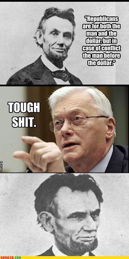 Jim Bunning lincoln politics the internets tough shit - 3255086592