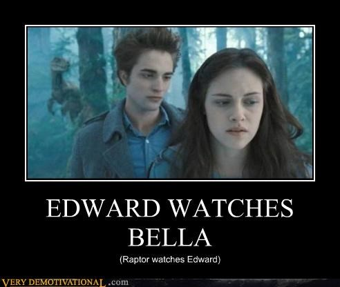 clever girl,dinosaurs,edward cullen,Mean People,Pure Awesome,Raptor,twilight
