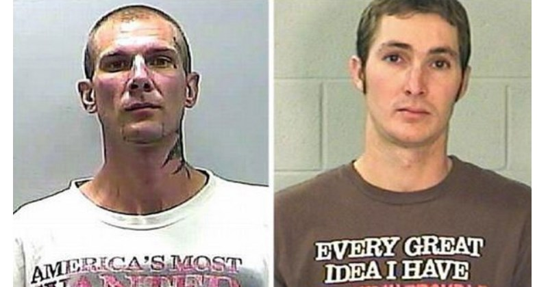 funny mugshot tshirts that we poor choices