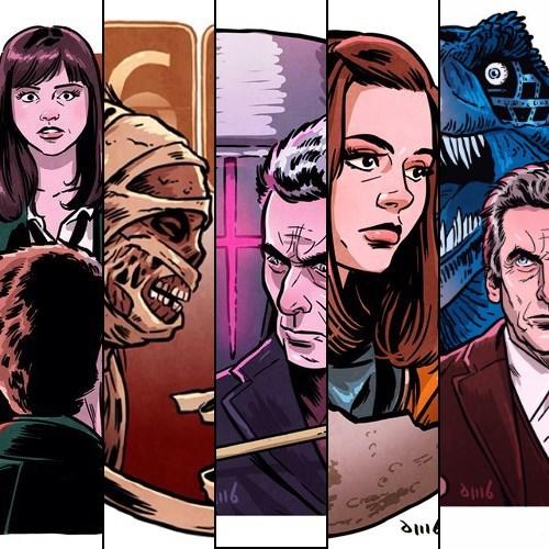clara oswin oswald,art,12th Doctor