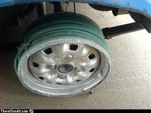 car,hose,not street legal,omg,unsafe,wheel