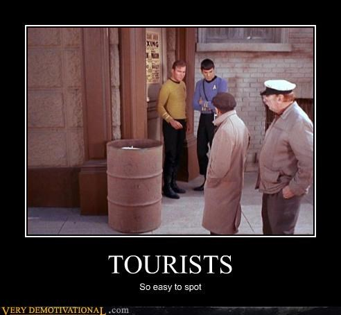 tourists,Star Trek,time travel