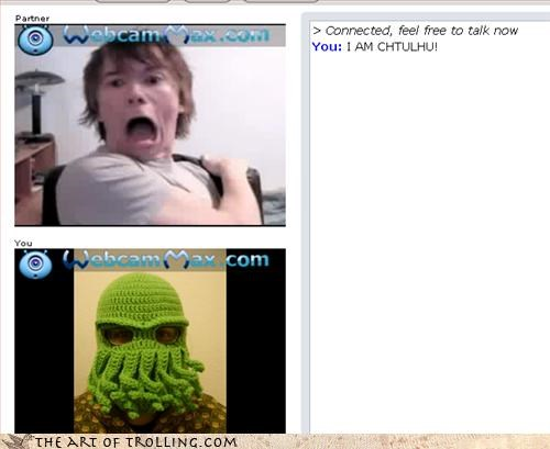 Chat Roulette,cthulhu,Hall of Fame,masks