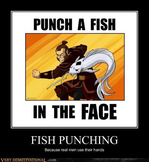face punch Avatar fish