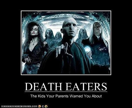 DEATH EATERS - Cheezburger - Funny Memes | Funny Pictures