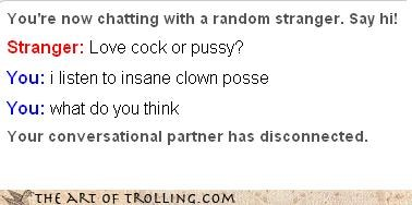 insane clown posse Omegle sexy times - 3262492160