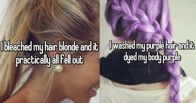 Hilarious Confessions From People That FAILed While Dying Their Hair