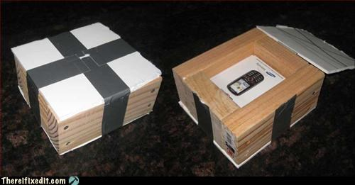 duct tape,gift,too much effort,wood