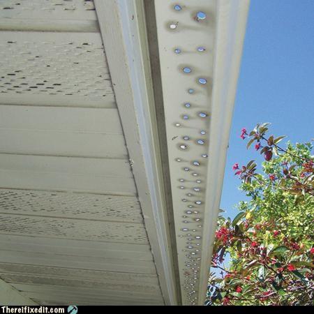 drain gutter holes rain - 3265625600