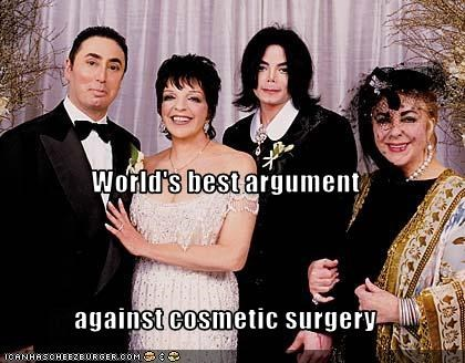 cosmetic surgery arguments for and against