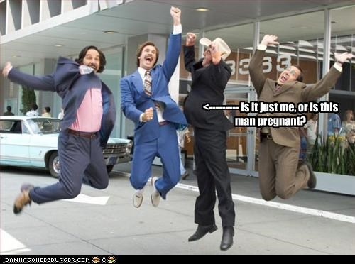 anchorman david koechner paull rudd pregnant steve carell Will Ferrell - 3267980032