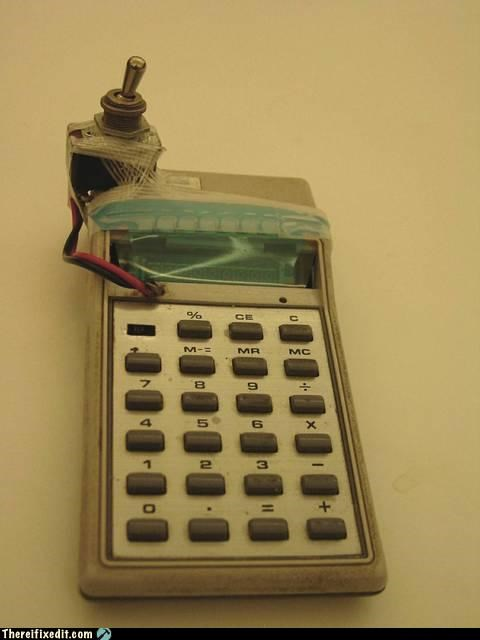 calculator make it work math Mission Improbable switch