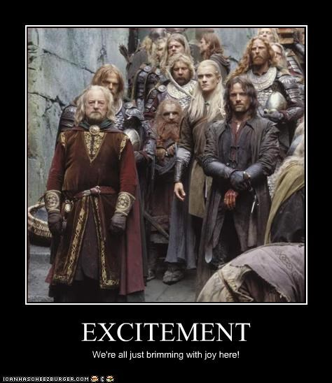 emo excitement Lord of the Rings sci fi - 3268422400