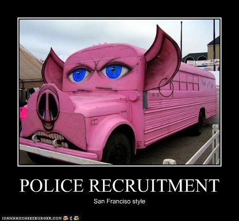POLICE RECRUITMENT San Franciso style