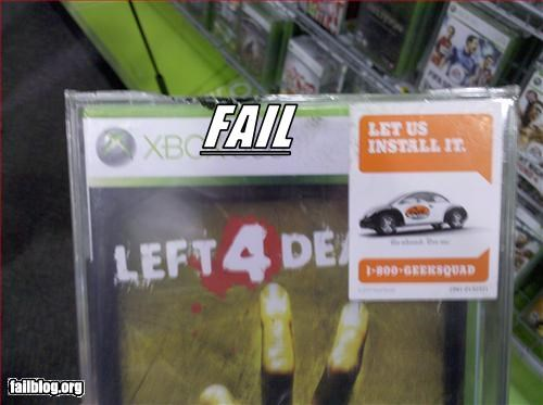best buy failboat g rated Left 4 Dead nerd video games wins - 3268926464