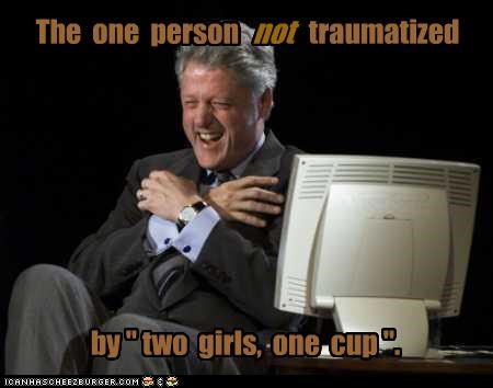 bill clinton democrats one cup president two girls - 3269761792