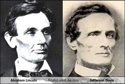 abraham lincoln,confederacy,jefferson davis,politics,president
