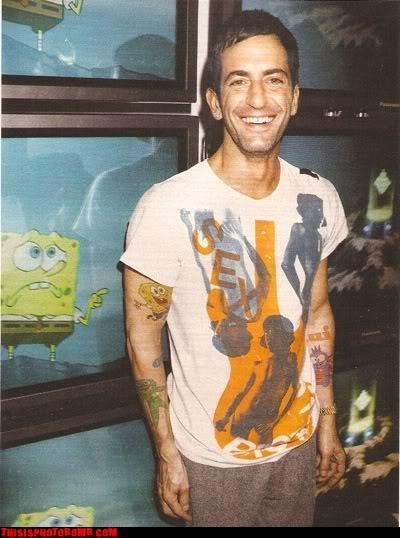 celeb Celebrity Edition fashion ink marc jacobs SpongeBob SquarePants