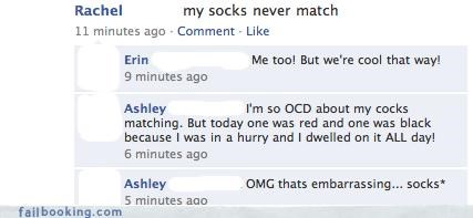 ocd,p33n,socks,The Spelling Wizard,TMI