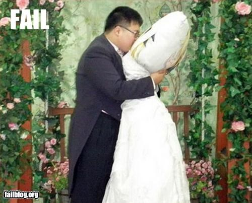 crazy g rated marriage Pillow wedding - 3275536128