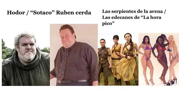 game of thrones con actores mexicanps