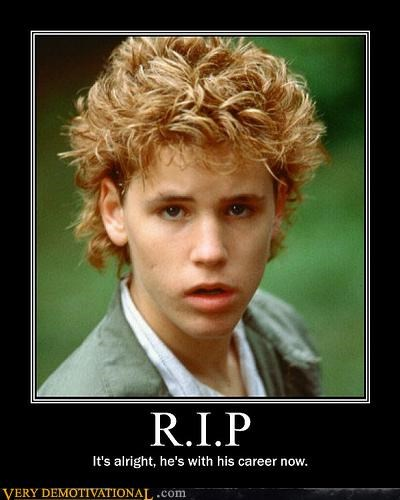corey haim,lost boys,Mean People,rip,Sad