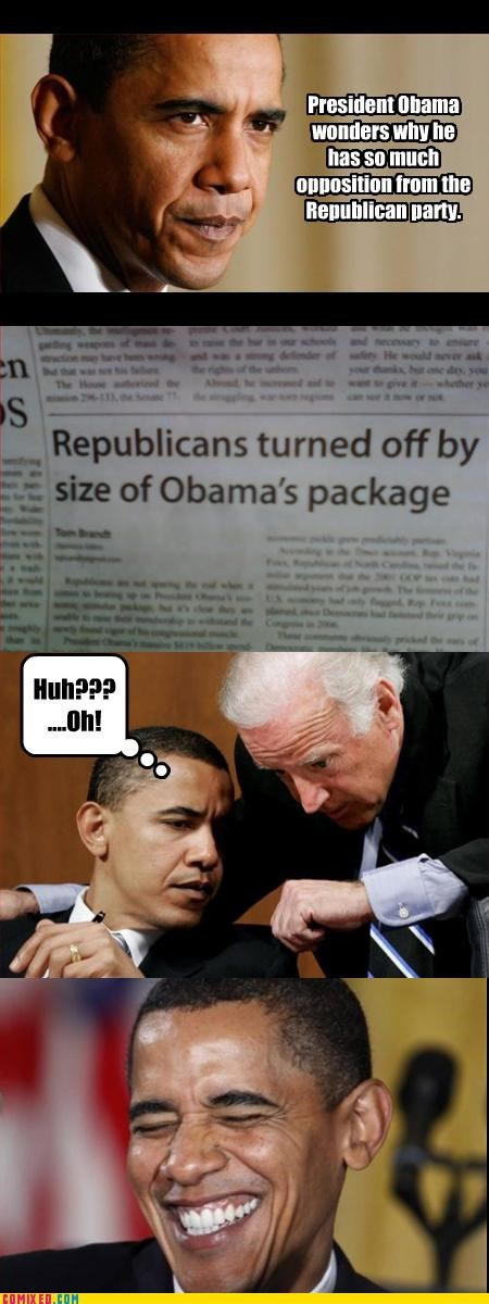 obama package Republicans smugness - 3277065728