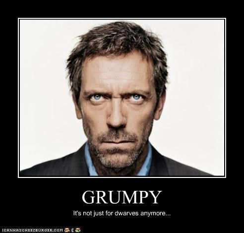 angry grumpy house-m-d hugh laurie - 3279952640