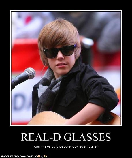 REAL-D GLASSES can make ugly people look even uglier