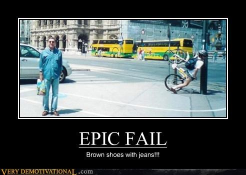 bicycle bike crash demotivational epic fail fashion Sad - 3280361984