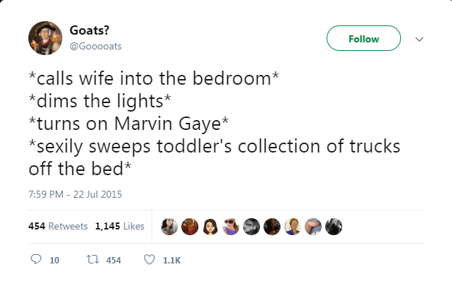 parents funny tweets about sex after kids