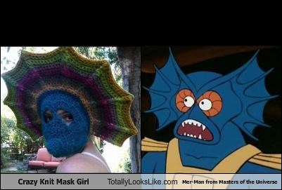 80s cartoons girl he man knit mask masters of the universe - 3283094016