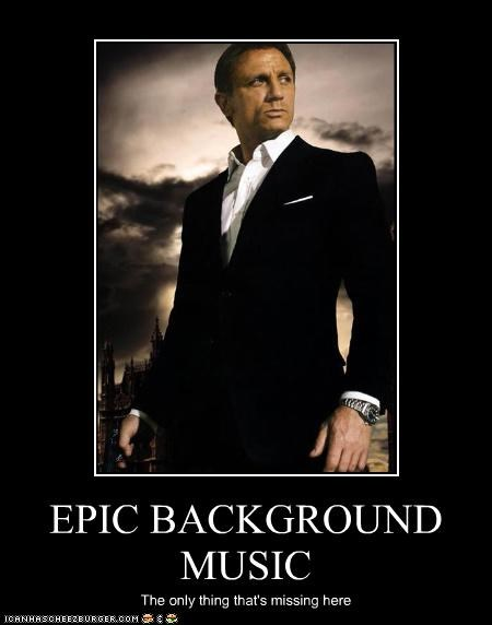007 Daniel Craig epic james bond Music - 3284706048