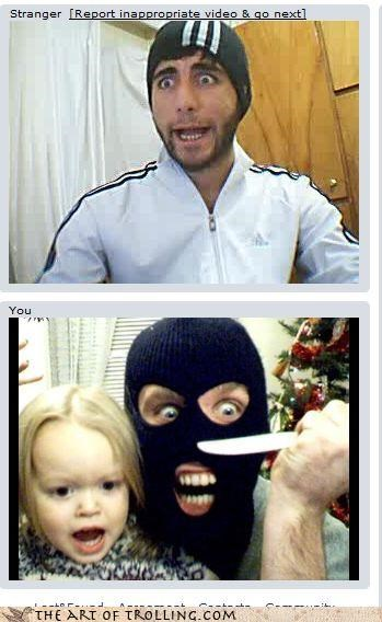 Babies Chat Roulette Hall of Fame hostages masks terrorists weapons