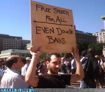 Free Speech,hand held