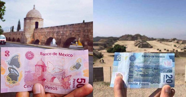 monumentos billetes mexico