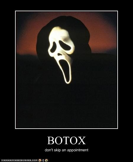botox horror mask movies scream - 3294669056