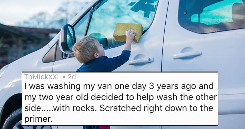 askreddit stories about the most expensive thing kids have destroyed