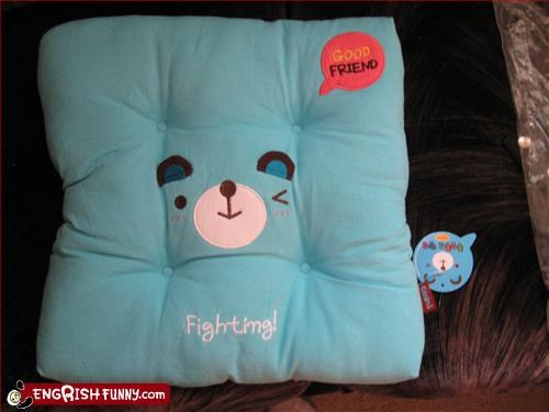 fight friend good g rated Pillow - 3295033856