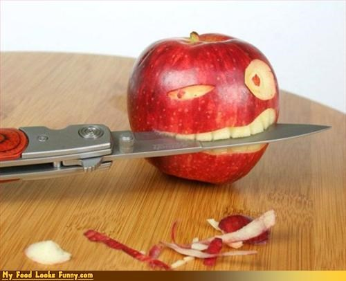 apple fruit fruits-veggies knife Pirate srs - 3295257856