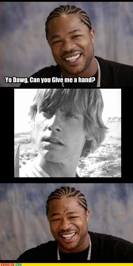 luke skywalker,star wars,Xxzibit,xzhibit