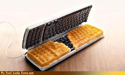 cereals-grains keyboard Sweet Treats waffles - 3295561728