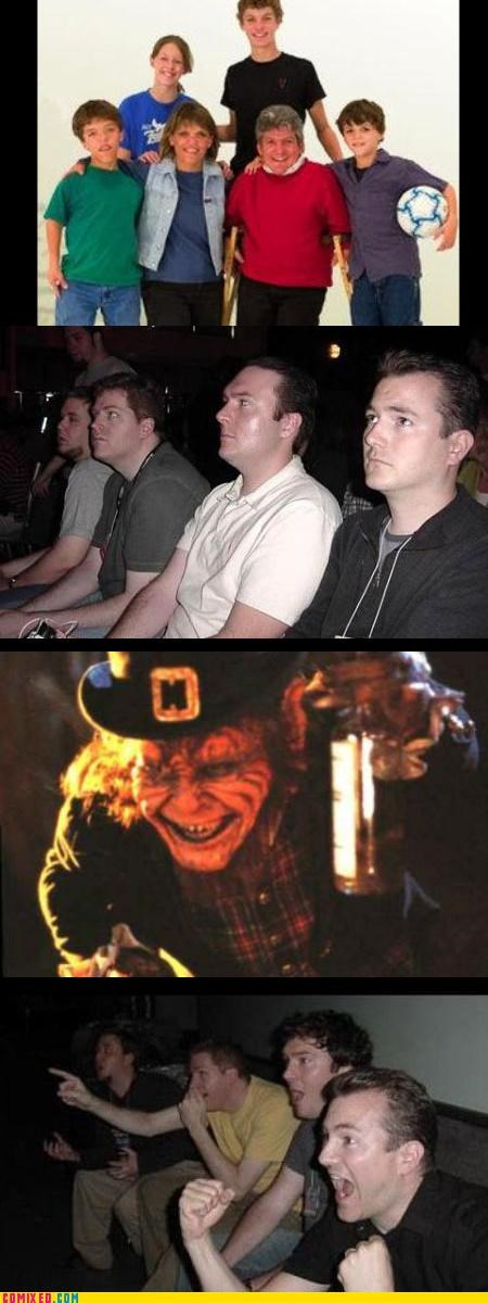 leprechaun,midgets,reaction guys,the internets,The Leprechaun in the Hood,warwick davis