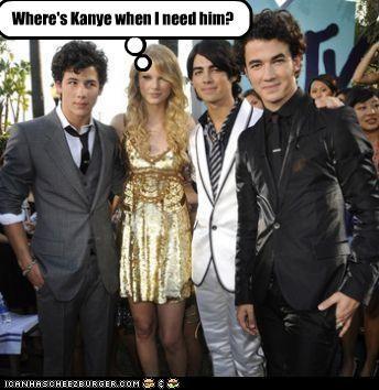 Where's Kanye when I need him?