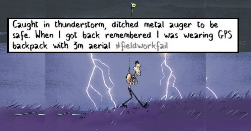 Hilarious Fieldwork FAILs From Experiments Gone Wrong