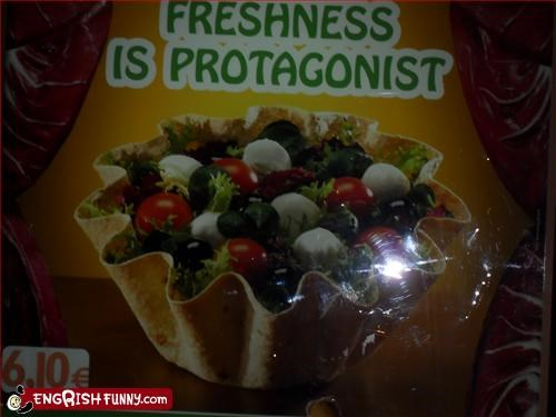 freshness,g rated,salad,signs