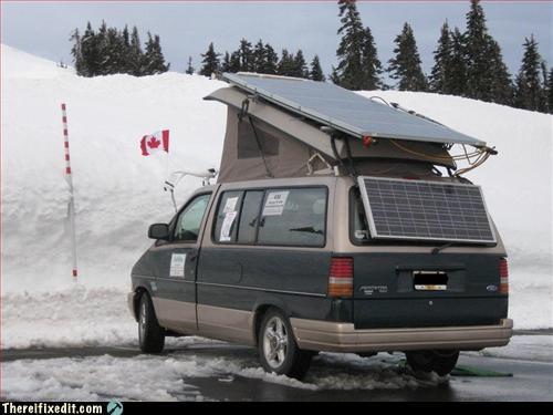 green energy,mod,solar,van