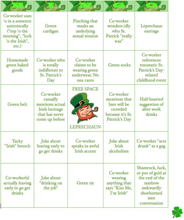 alcoholism basic instructions bingo boredom clever creativity in the workplace cubicle boredom drinking drinking day drunk game irish paper signs Sad sass signage St Patrick's Day whiskey wiseass wish i were drunk this instant work smarter not harder g rated